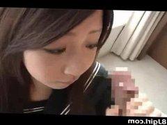 Japan Schoolgirl Teen Cum Facial
