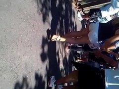 Hot girls on the street