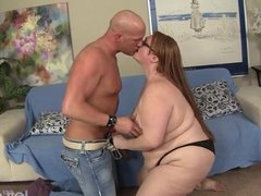 Sexy BBW Julie Ann More gets fucked like a do