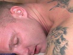 Massage Rooms Stunning brunette gives a wank