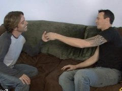 Tattooed married guy gets fucked by a gay