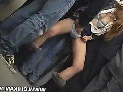 Shy Girl groped by stranger