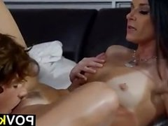 MILF With Small Tits Gets Seduced