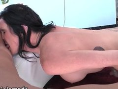 Latina Tgirl Morgan Bailey bareback sex