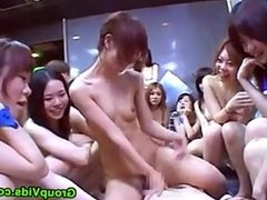 Japanese Girls Gangbang Guy