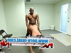 [Brown Bunnies]Ebony Babe gets pounded at the