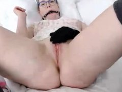 Hot sweet daddys girl Kitty choking
