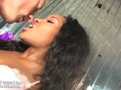 Big Ass Ebony Lori Alexia Sucked A White Cock
