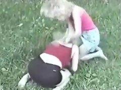 Kristy vs Amanda extreme catfight girlfight