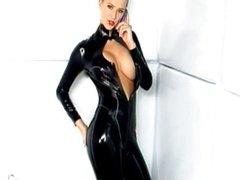Danica - PVC Catsuit
