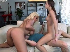 Big tits cum inside pussy