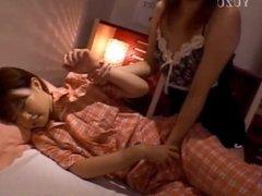 Amateur Michiru masturbating at home