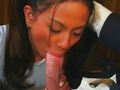 Anal with asian cutie Jade Marcella