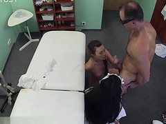 Nice pussy painful anal