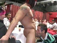 Sexy stepfather cumshot surprise