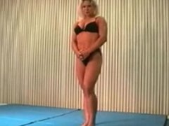Mixed wrestling fbb Christine Fetzer
