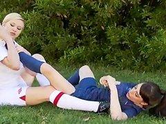 soccer Kicks And Lesbian Licks!