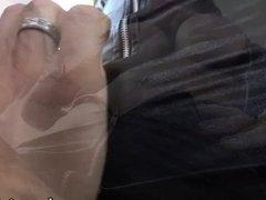 Erotic Tgirl Aline in daring anal sex
