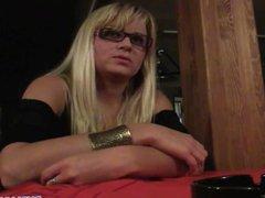 PublicAgent - Blonde waitress fucks customer