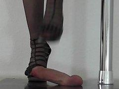 Sexy slut anal play