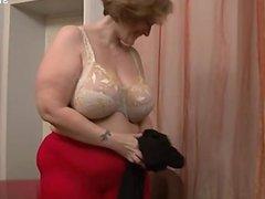 Sexy daughter ass eating
