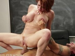 Wicked - Redhead milf loves cum
