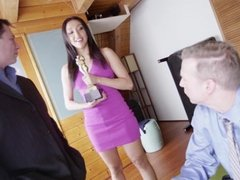 Vicki Chase double anal penetration