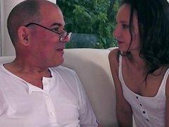 Natural tits   sex in public