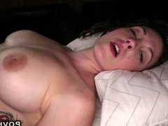 Natural busty amateur pov fucking