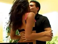 Hot Latina Got A Double Penetration And A Fac