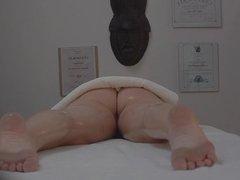 Czech Massage Room Intensive Sex with Teen Br
