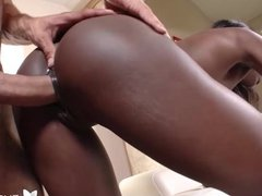 4K HD - Exotic4K Ana Foxxx gets a creampie