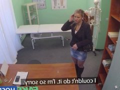 FakeHospital Stunning mature blonde patient