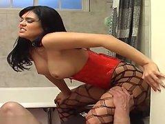 Horny wife   hard anal fuck