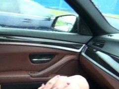 Sexy teen Taissia Shanti anal in the car