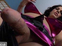 TS Gina Hart twat fucked gal Deanna Dare