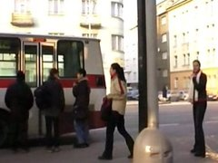 Public-2721girl Tatjana - First time wetting