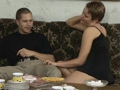 Group orgy with bisexual MILFs