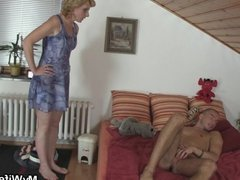 Mother-in-law helps him feel better