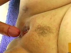 OldNanny Pretty chubby granny was fucked from