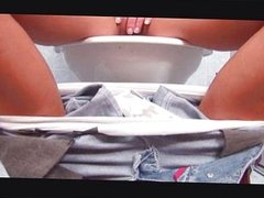 Sex in toilet with cutie russian girl #10