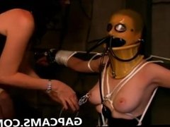 Hardcore bondage on webcam