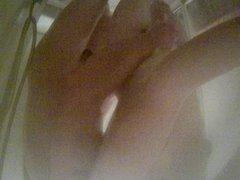 cam test in shower