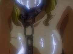 Hentai blondie in chains gets brutally fucked
