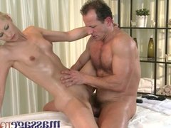 Massage Rooms - Uma expertly massages two
