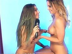 Lori Buckby & Cali Garcia lesbian fun pt1