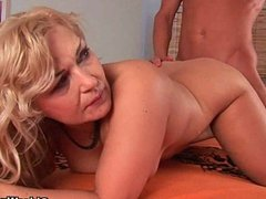 Mommy will take your cum load on her tits