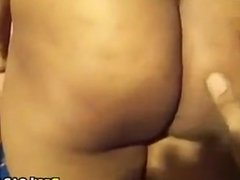 Indian Aunty Teasing Her Body