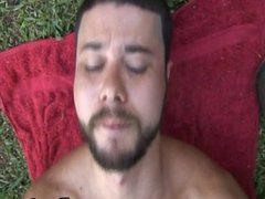 Beefy Gay Hardcore Anal Fucking In The Forest