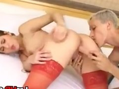 Lesbian Bitch Fisted In The Ass